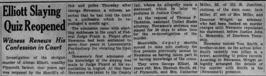Alonzo Elliott's murder - Newspapers com