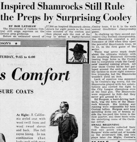 Inspired Shamrocks Still Rule -