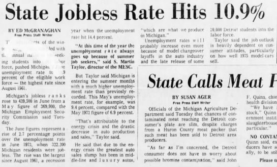 State Jobless Rate Hits 10.9% -