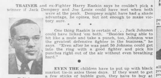 68c57efb7220 Harry Raskin on Jack Dempsey and Joe Louis - Newspapers.com