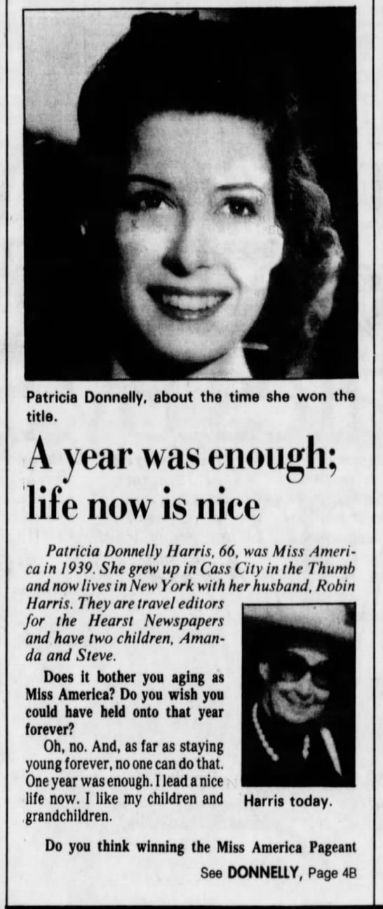 Patricia Donnelly Harris -