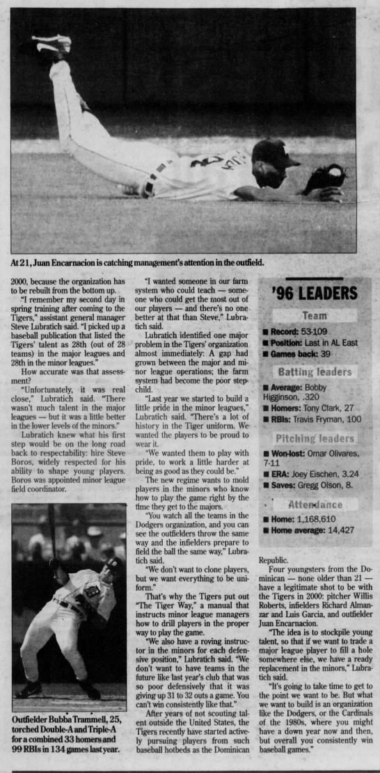 Steve Lubratich - March 28, 1997 -