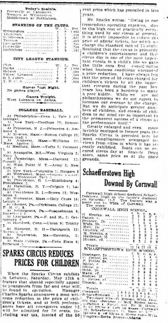 Sparks Ticket Reduction5-7-1923 - fit l anc.n.s:er. Trrnten nt \Vilininr:t.'ii....