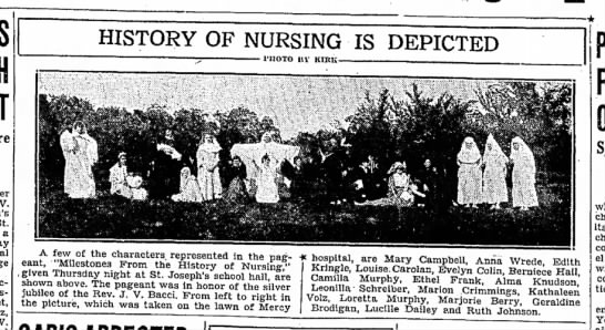 History of Nursing is Depicted