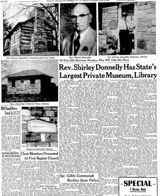 1959 Shirley Donnelly Library -
