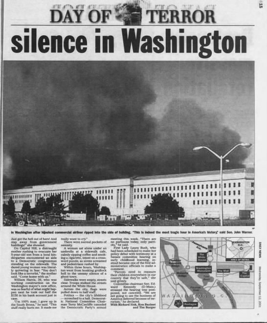 9/11 Disaster then eerie page 2 -