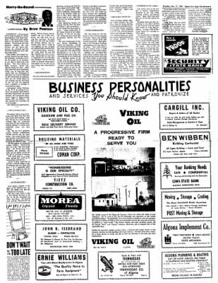 The Algona Upper Des Moines from Algona, Iowa on November 11, 1965 · Page 5