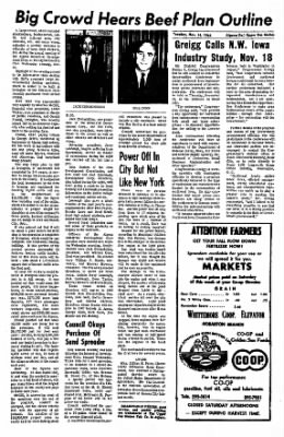The Algona Upper Des Moines from Algona, Iowa on November 16, 1965 · Page 7
