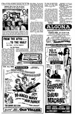 The Algona Upper Des Moines from Algona, Iowa on November 24, 1965 · Page 22