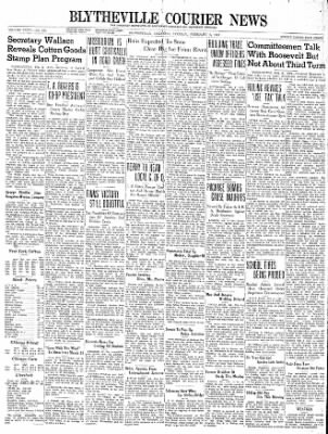 The Courier News from Blytheville, Arkansas on February 6, 1940 · Page 1
