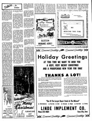 The Algona Upper Des Moines from Algona, Iowa on December 23, 1965 · Page 15