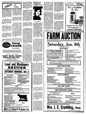 The Algona Upper Des Moines from Algona, Iowa on January 6, 1966 · Page 6