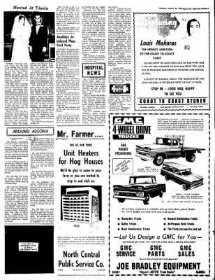 The Algona Upper Des Moines from Algona, Iowa on January 20, 1966 · Page 14