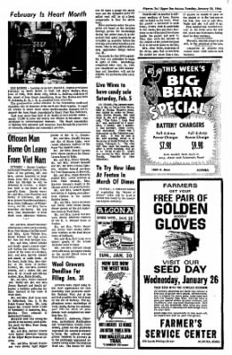 The Algona Upper Des Moines from Algona, Iowa on January 25, 1966 · Page 3