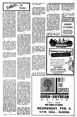 The Algona Upper Des Moines from Algona, Iowa on January 25, 1966 · Page 14