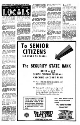 The Algona Upper Des Moines from Algona, Iowa on January 25, 1966 · Page 16