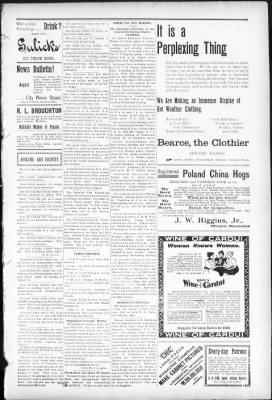 Abilene Daily Chronicle from Abilene, Kansas on July 29, 1899 · Page 3