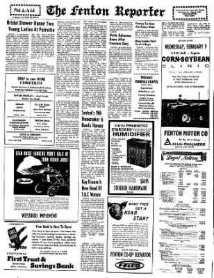 The Algona Upper Des Moines from Algona, Iowa on February 3, 1966 · Page 5