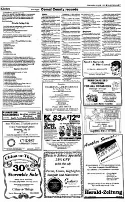 New Braunfels Herald-Zeitung from New Braunfels, Texas on July 28, 1993 · Page 7