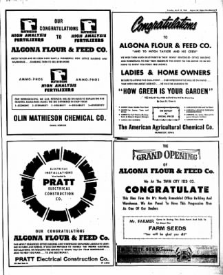The Algona Upper Des Moines from Algona, Iowa on April 19, 1960 · Page 11