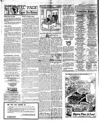 The Algona Upper Des Moines from Algona, Iowa on May 3, 1960 · Page 10