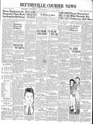 The Courier News from Blytheville, Arkansas on February 9, 1940 · Page 1