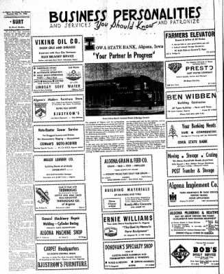 The Algona Upper Des Moines from Algona, Iowa on May 31, 1960 · Page 12