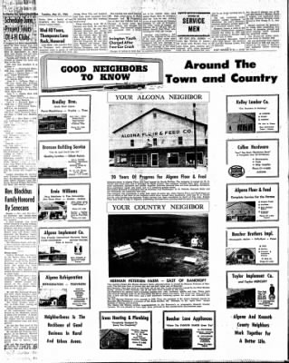 The Algona Upper Des Moines from Algona, Iowa on May 31, 1960 · Page 14