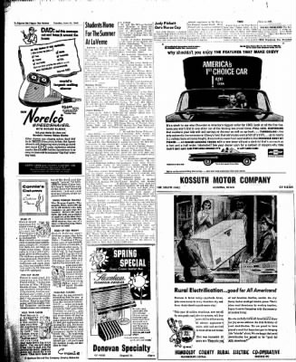 The Algona Upper Des Moines from Algona, Iowa on June 14, 1960 · Page 10