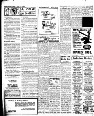 The Algona Upper Des Moines from Algona, Iowa on June 14, 1960 · Page 16