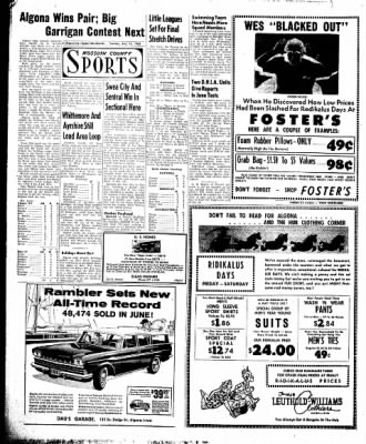 The Algona Upper Des Moines from Algona, Iowa on July 12, 1960 · Page 6