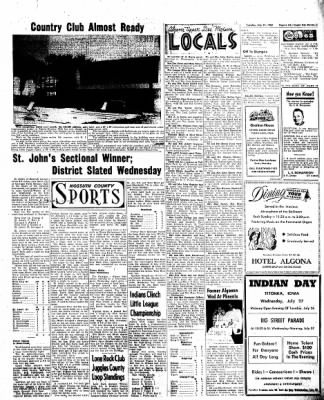 The Algona Upper Des Moines from Algona, Iowa on July 19, 1960 · Page 5