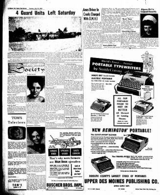The Algona Upper Des Moines from Algona, Iowa on July 19, 1960 · Page 6