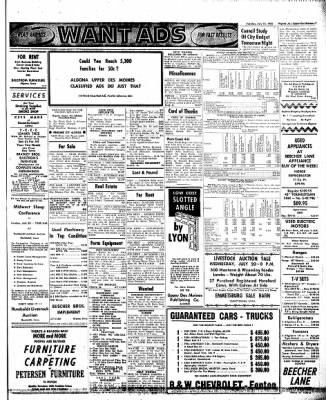 The Algona Upper Des Moines from Algona, Iowa on July 19, 1960 · Page 7