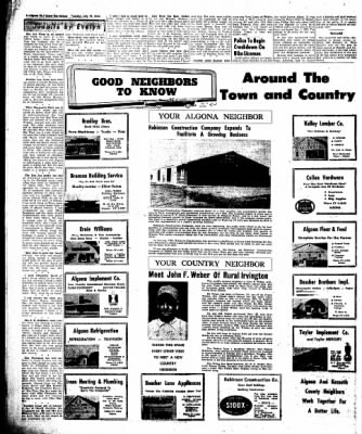 The Algona Upper Des Moines from Algona, Iowa on July 19, 1960 · Page 12