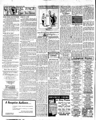 The Algona Upper Des Moines from Algona, Iowa on August 30, 1960 · Page 8
