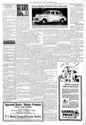 The Hearne Democrat from Hearne, Texas on September 26, 1941 · Page 8