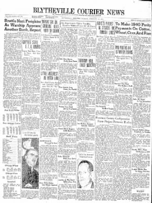 The Courier News from Blytheville, Arkansas on February 13, 1940 · Page 1