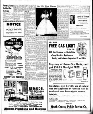 The Algona Upper Des Moines from Algona, Iowa on September 20, 1960 · Page 11