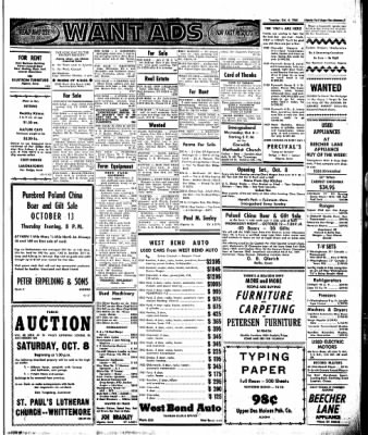 The Algona Upper Des Moines from Algona, Iowa on October 4, 1960 · Page 7