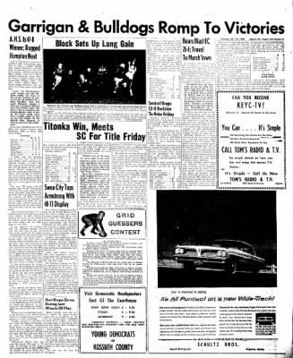 The Algona Upper Des Moines from Algona, Iowa on October 18, 1960 · Page 5