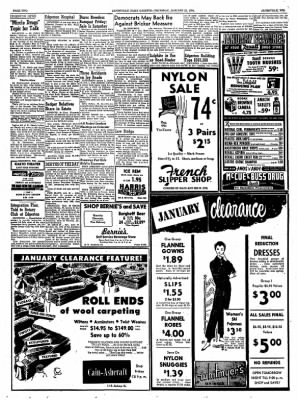 janesville daily gazette from janesville wisconsin on january 21 La Salle Car janesville daily gazette from janesville wisconsin on january 21 1954 page 2