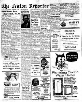 The Algona Upper Des Moines from Algona, Iowa on October 18, 1960 · Page 22