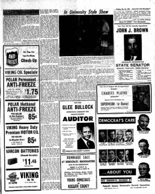 The Algona Upper Des Moines from Algona, Iowa on October 25, 1960 · Page 17