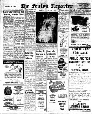 The Algona Upper Des Moines from Algona, Iowa on November 8, 1960 · Page 4