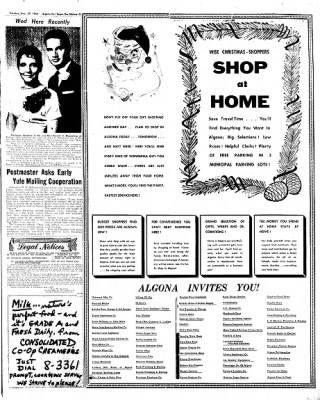 The Algona Upper Des Moines from Algona, Iowa on November 29, 1960 · Page 11