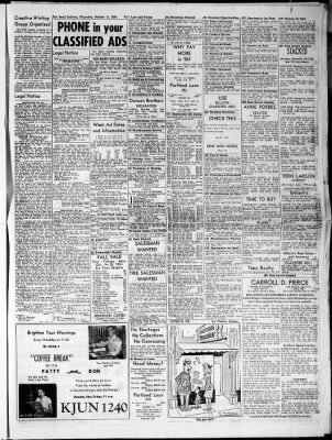 The Bend Bulletin from Bend, Oregon on October 21, 1954
