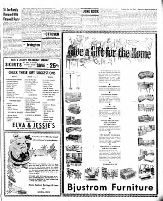 The Algona Upper Des Moines from Algona, Iowa on December 13, 1960 · Page 11