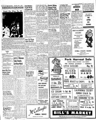 The Algona Upper Des Moines from Algona, Iowa on February 2, 1961 · Page 4