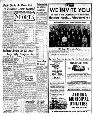 The Algona Upper Des Moines from Algona, Iowa on February 2, 1961 · Page 16